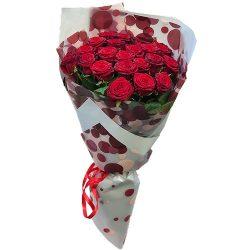 фото букета 21 красная роза