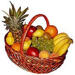 товар Большая корзина фруктов с доставкой