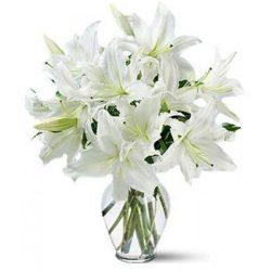 "Букет ""Золушка"" белые лилии"