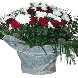 товар Цветы на похороны — корзина