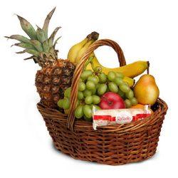 товар Средняя корзина фруктов с доставкой