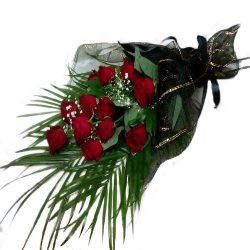 товар Траурные цветы розы