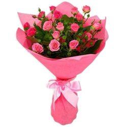 """Букет """"С Добрым утром"""" кустовые розы"""