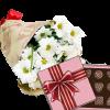 фото 3 хризантемы с конфетами