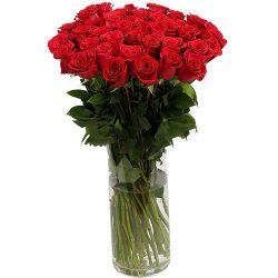 товар Роза импортная красная (поштучно)